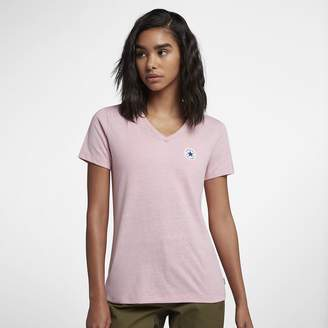 Converse Core Tri-Blend Women's V-Neck T-Shirt
