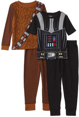 4846db51d Star Wars Character Sleepwear 4Pc Pajama Set