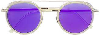 Cutler & Gross round-frame tinted sunglasses