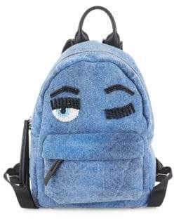 Chiara Ferragni Flirting Zippered Backpack