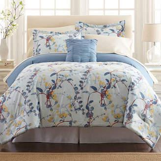 PACIFIC COAST TEXTILES Pacific Coast Textiles Lucia Reversible 8-pc Reversible Comforter Set
