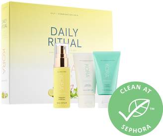 Kora Organics KORA Organics - Daily Ritual Kit for Oily/Combination Skin