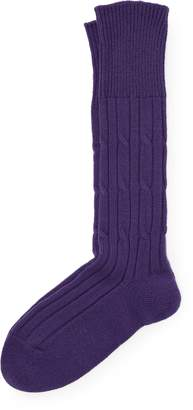Ralph Lauren Hand-Knit Cashmere Socks