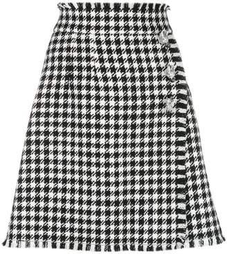 Dolce & Gabbana vichy pattern skirt