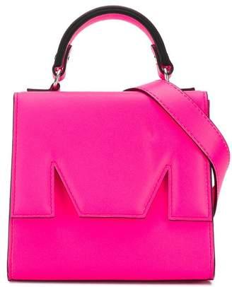 MSGM Neon mini tote bag