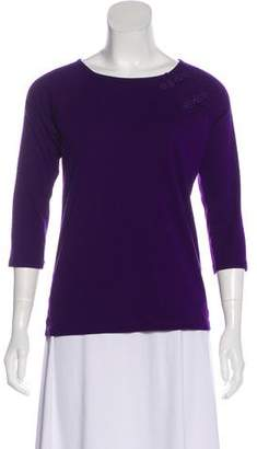 Lauren Ralph Lauren Three-Quarter Sleeve T-Shirt