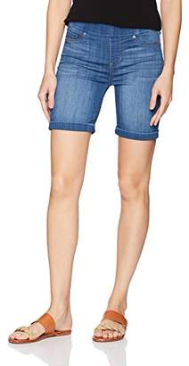 Liverpool Jeans Company Women's Roxie Pull-on Walking Short in Silky Soft Denim