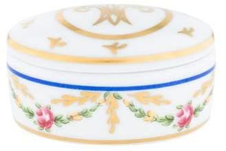 Raynaud Limoges Porcelain Box