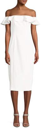 Jay Godfrey Rollins Midi Dress