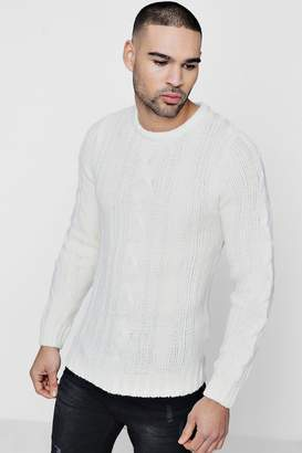 boohoo Crew Neck Knit Jumper