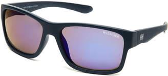 Tommy Hilfiger Blue Richard Rectangle Sunglasses