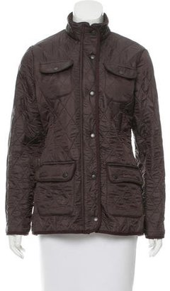 Barbour Casual Quilted Jacket $195 thestylecure.com