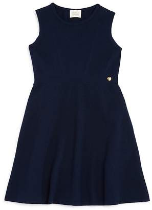 Armani Junior Girls' Solid Sweater Dress - Big Kid