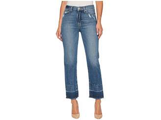 Hudson Zoeey High-Rise Straight + Released Hem in Far Away Women's Jeans
