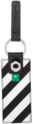 Off-White Off White Black Diag Key Holder