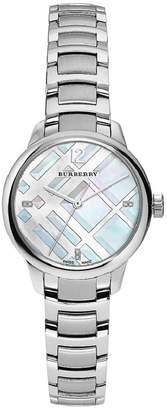 Burberry Women's Classic Round BU10110 Stainless-Steel Swiss Quartz Watch