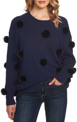 CeCe Pompom Pullover