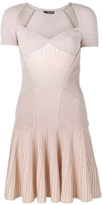 Alexander McQueen mini knit dress