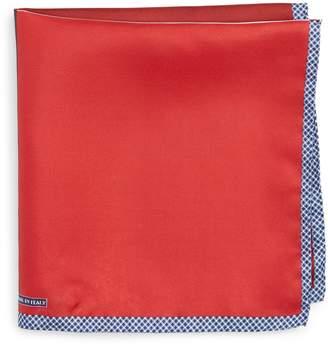 Nordstrom Panel Silk Pocket Square