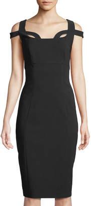 Jax Cold-Shoulder Cutout Bodycon Dress