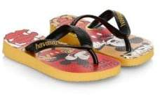 Havaianas (ハワイアナス) - Havaianas Havaianas Kid's Disney Stylish Sandals - Mustard - Size 23-24/ 9 US (Toddler)