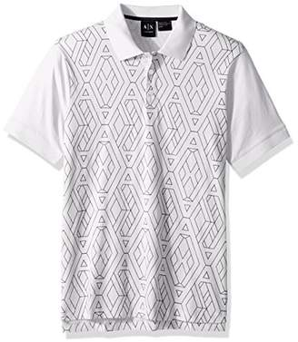 Armani Exchange A|X Men's Short Sleeve Polo Shirt