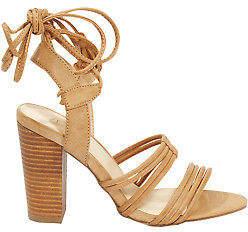 NEW Verali Womens Heels Cortina Heel Tan