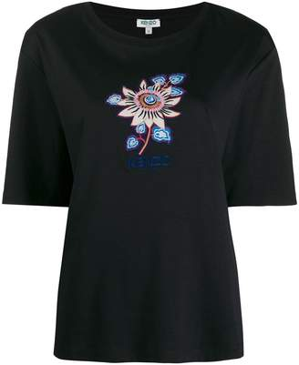 Kenzo floral graphic T-shirt