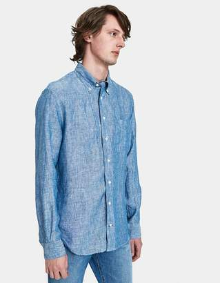 Gitman Brothers Linen Chambray Shirt
