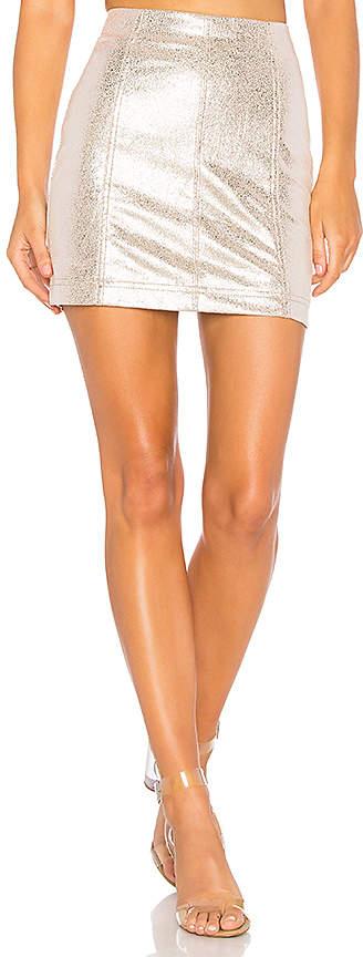 Free People New Modern Femme Vegan Mini Skirt