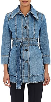 Marni Women's Cotton Denim Belted Jacket