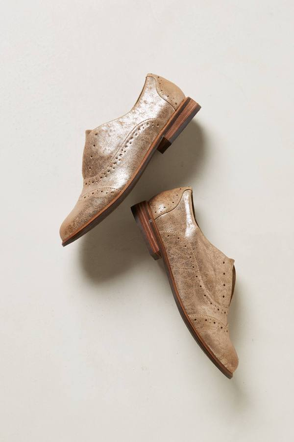 Anthropologie Siegfried Laceless Oxfords