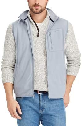 Chaps Big & Tall Classic-Fit Microfleece Vest