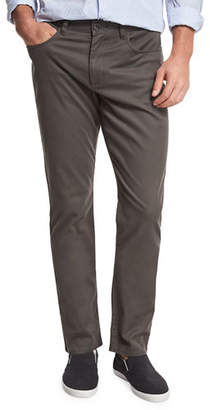 Vince Soho Five-Pocket Stretch-Cotton Pants