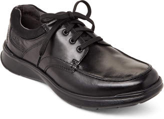 Clarks Black Cotrell Edge Leather Oxfords