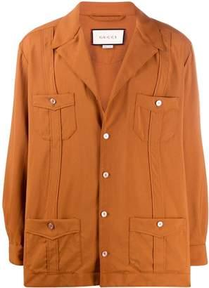 Gucci flap pocket jacket