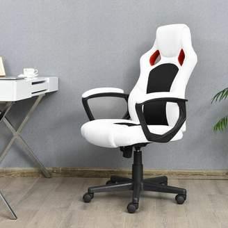 Orren Ellis Hamer Executive Racing Style Chair High Back Bucket Seat Computer Office Desk Task New Orren Ellis