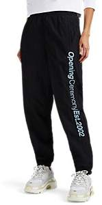 Opening Ceremony Women's Logo-Embroidered Jogger Pants - Black