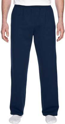 Fruit of the Loom Mens 7.2 oz. Sofspun Open-Bottom Pocket Sweatpants(SF74R)-XL