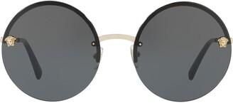 Versace Eyewear Mirror Medusa sunglasses