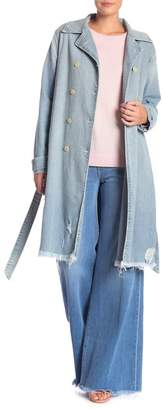 Frame Denim Trench Coat