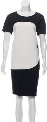 Calvin Klein Collection Short Sleeve Shift Dress Black Short Sleeve Shift Dress