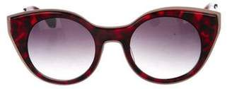 Morgenthal Frederics Gradient Cat-Eye Sunglasses