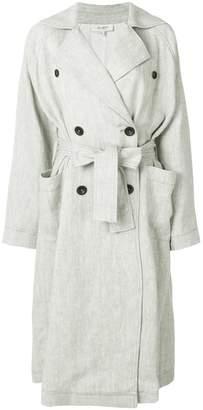 Isa Arfen belted midi coat