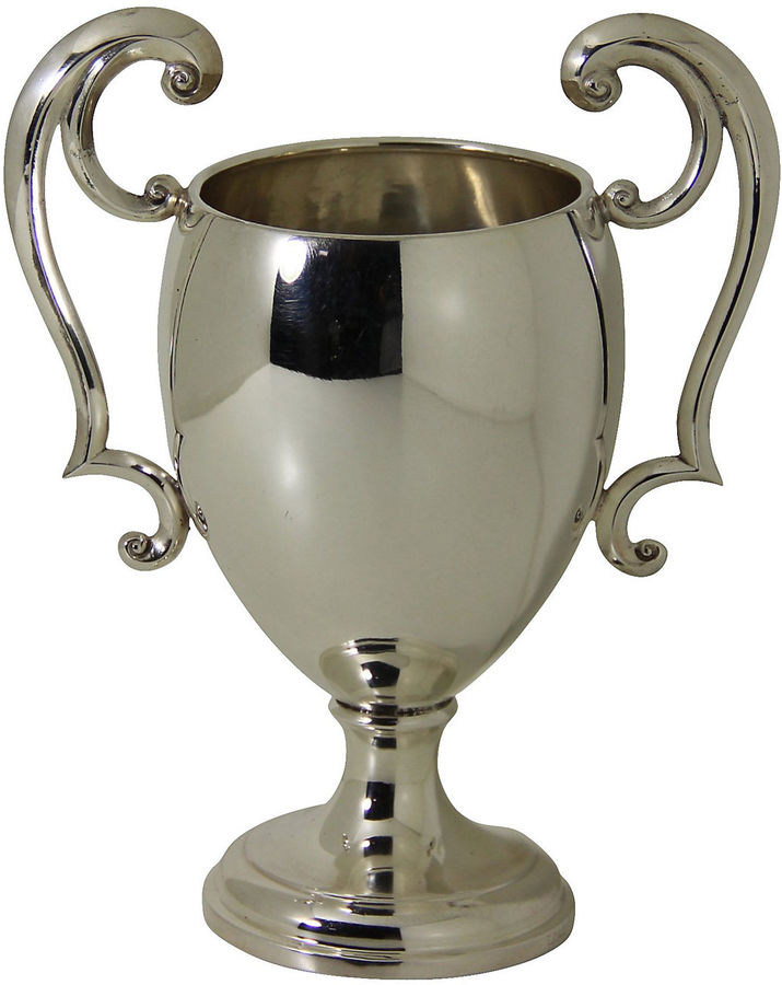 One Kings Lane Vintage English Silver Plate Cup, C. 1895