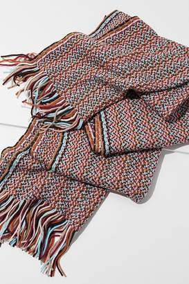 Urban Outfitters Geo Striped Oblong Scarf