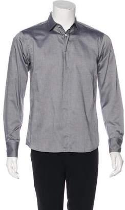 Rag & Bone Woven Dress Shirt