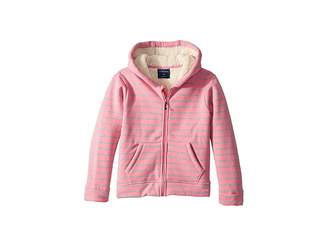 Toobydoo Fleece Lined Stripe Hoodie (Infant/Toddler/Little Kids/Big Kids)