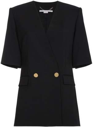 Stella McCartney Black Lea tailoring jacket