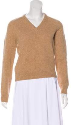 Saint Laurent Long Sleeve Knit Sweater